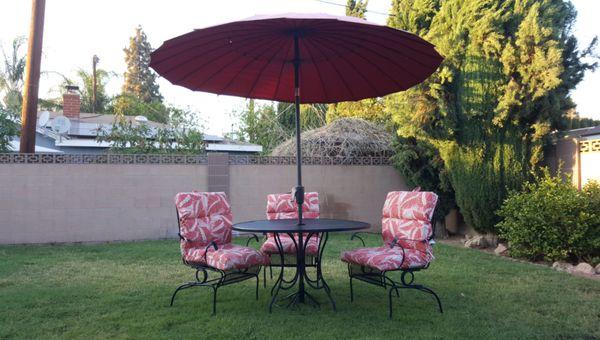 New Price Drop Mariam Patio 8 5ft Tilt Umbrella W Push Button