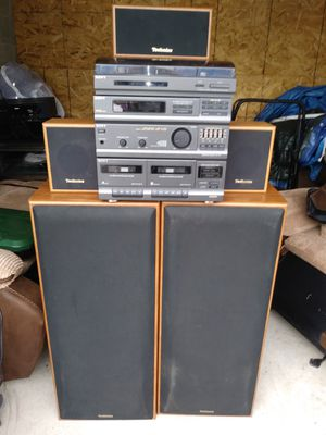 Comeplet home stereo system for Sale in Franklin, IN