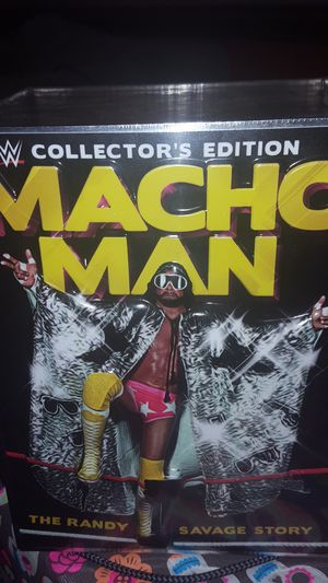 WWE/WWF Macho Man Randy Savage Collector's Edition Boxset for Sale in Gaithersburg, MD