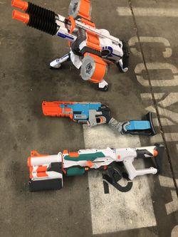All 3 nerf guns for $30 Thumbnail