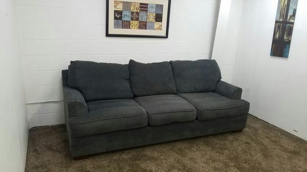 D0155-Blue / Grey Microfiber Sofa Set for Sale in Lake Oswego, OR ...