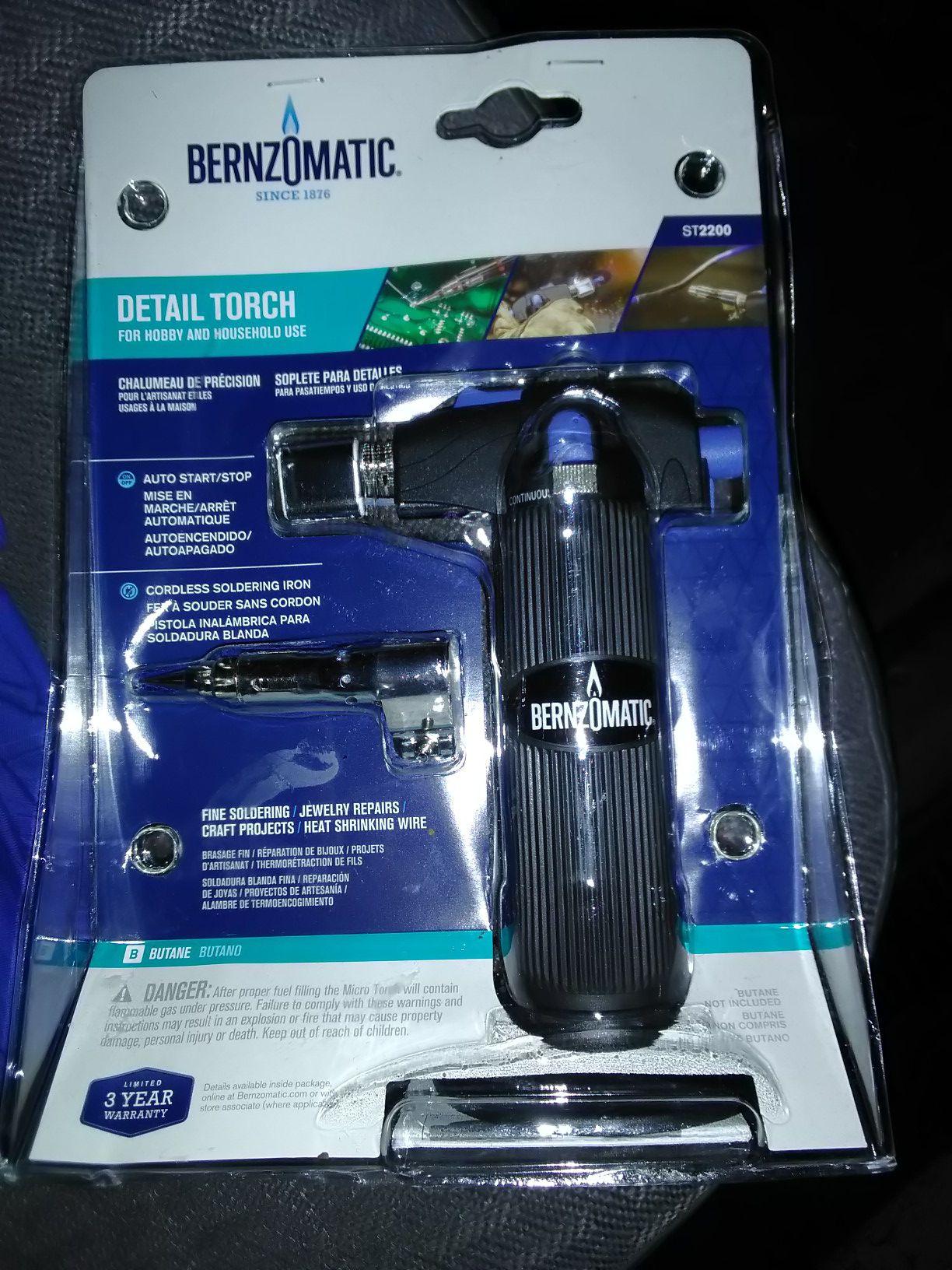 Bernzomatic torch brand new