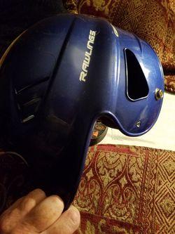 Rawlings blue baseball cap size 6.5-7.5 Thumbnail