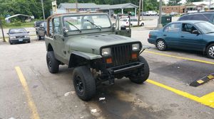 92 Jeep Wrangler 6cyl. for Sale in Alexandria, VA