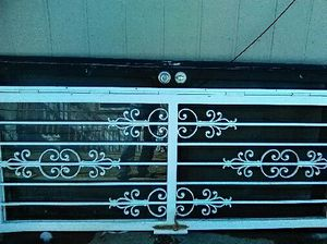 White Storm door in good condition for Sale in Denver, CO