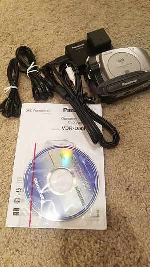 Panasonic DVD palmcorder for Sale in Houston, TX