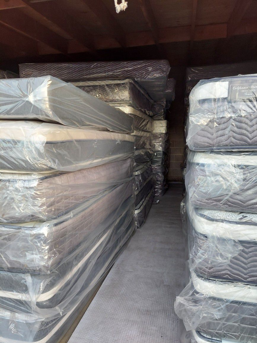 WE HAVE ALL SIZES MATTRESS AND BOX SPRING BRAND NEW