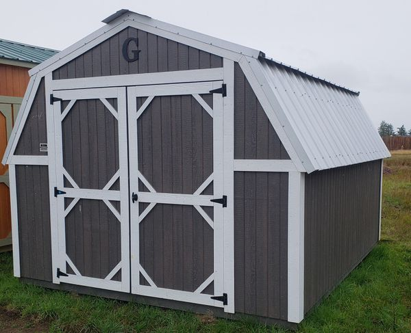 Mini Barn RENT TO OWN Graceland Portable Buildings Storage ...