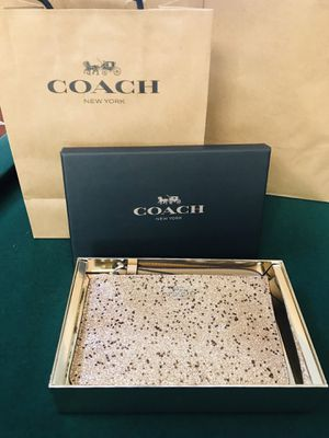 Coach purse bag new with box tags bag makes a great gift for Sale in Redlands, CA