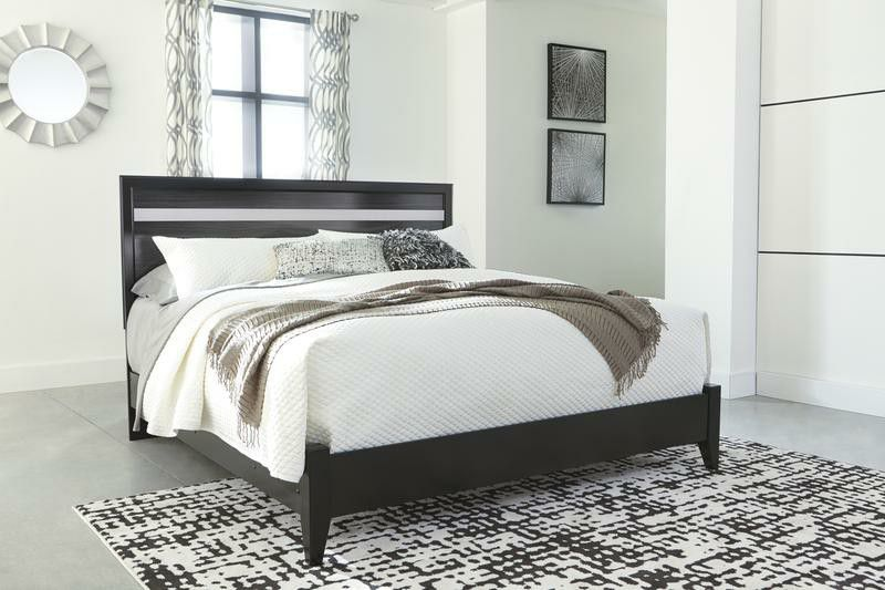 🔥Starberry Black King Panel Bed🔥💲💲💲39 DOWN 🌟SAME DAY DELIVERY