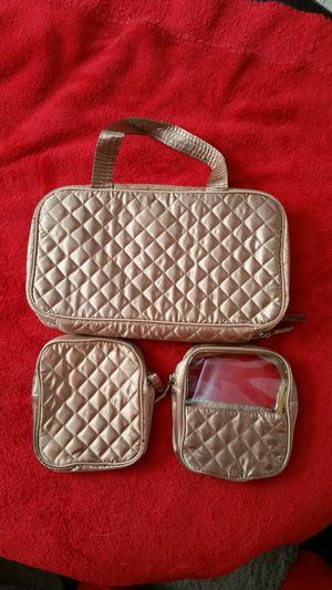 3 Piece Cosmetic Bag Set for Sale in Manassas, VA