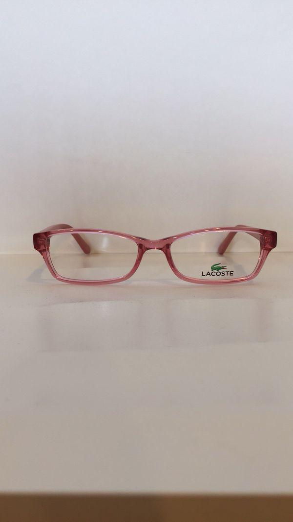 436acc09ec79 Lacoste L3608 662 Crystal Pink Eyeglasses 48mm for Sale in Alhambra ...