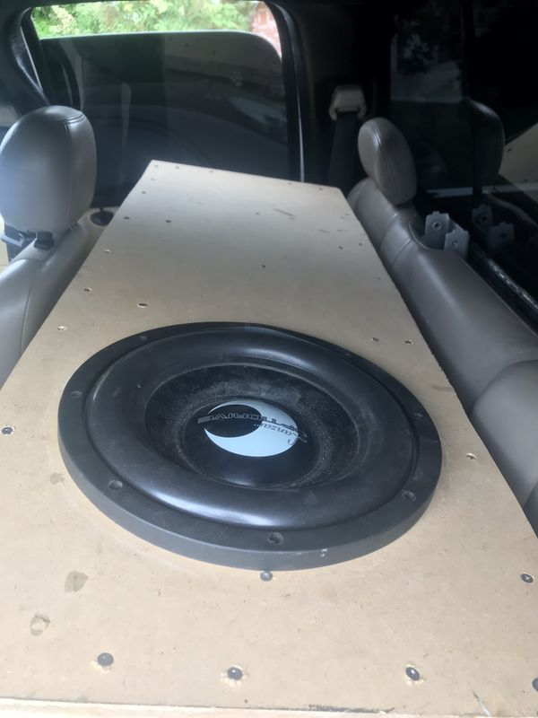 Lanzar opti 12 in custom ported box & 2000 watt massive amp for Sale in  Bakersfield, CA - OfferUp