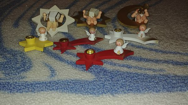 7 Original German Wooden Angels For Sale In Westminster Co Offerup