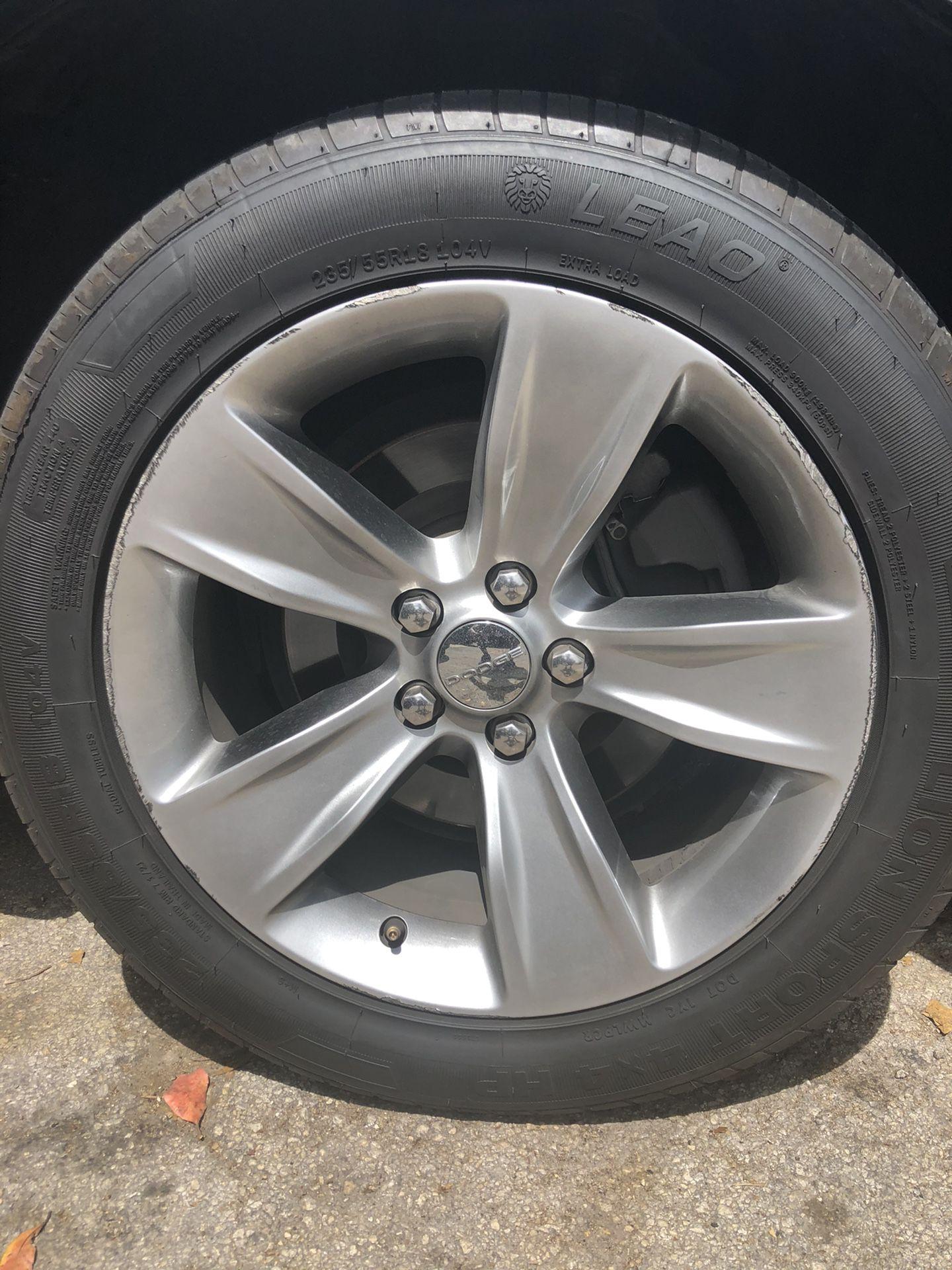 Dodge Challenger factory wheels