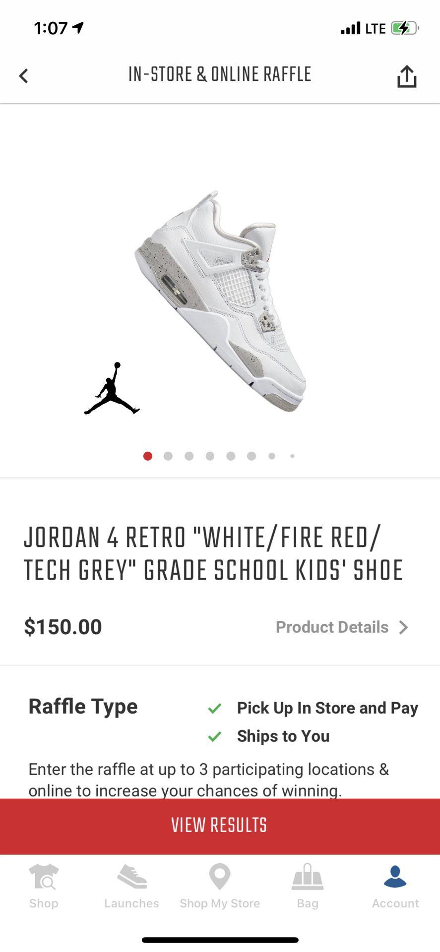 Jordan 4 tech grey