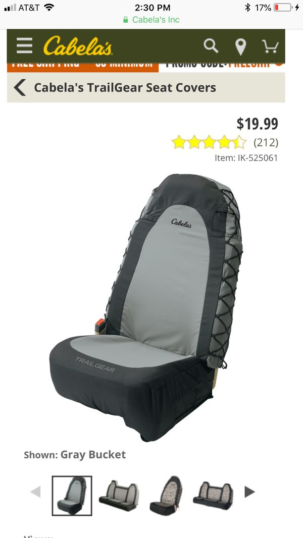 Strange Cabelas Trailgear Seat Covers Set Of 2 For Sale In Dailytribune Chair Design For Home Dailytribuneorg