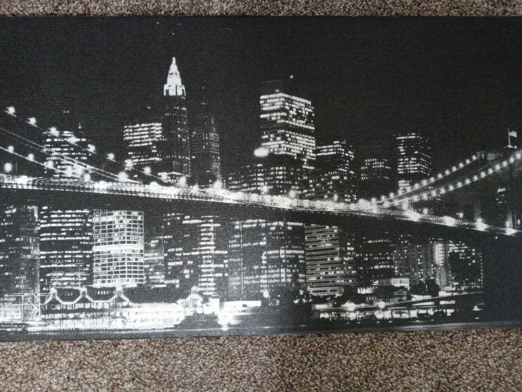 NIGHTLIFE CITY Wall Art $18