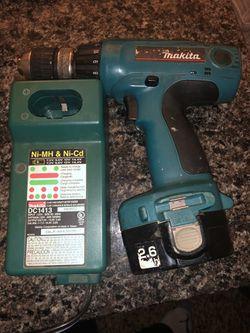 Makita 14.4 Drill, Battery, & Charger Thumbnail