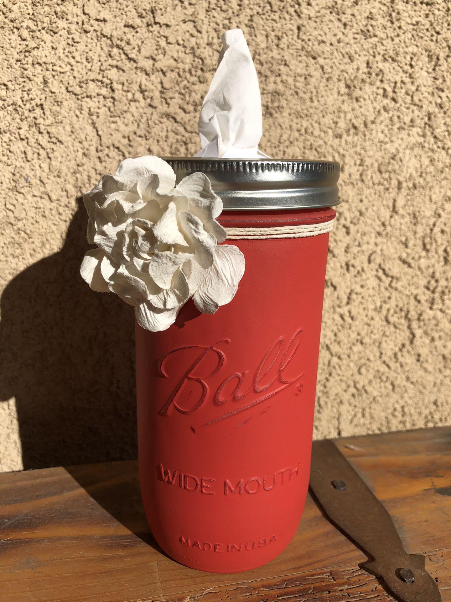 Kleenex Mason Jars
