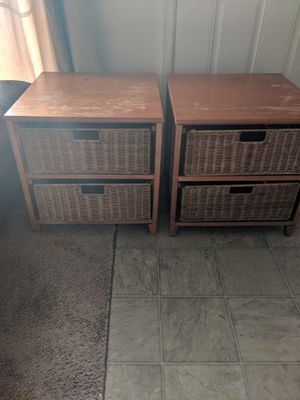 2 well used night stand (free, must pick up) for Sale in Stafford, VA