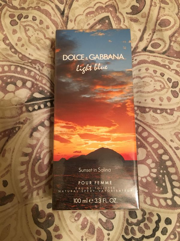 Dolce Gabbana Light Blue Sunset In Salina Perfume For Sale In Baltimore Md Offerup