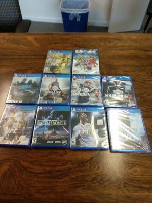 PS4 games ten games for Sale in Washington, DC