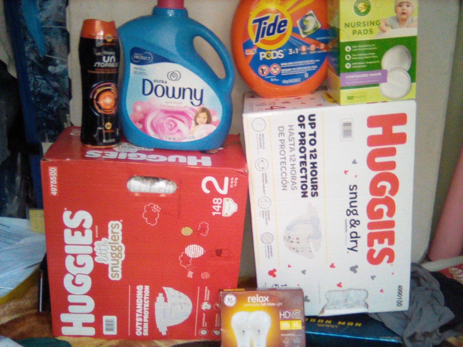 Huggies + Tide pods +Downey bundle !!!$ave$$!!