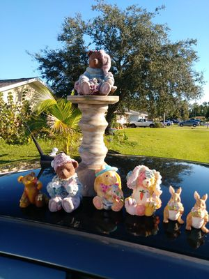 Teddy bear statue collection for Sale in Fort Myers, FL