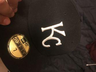 Black KC hat. Size 7 brand new still Thumbnail