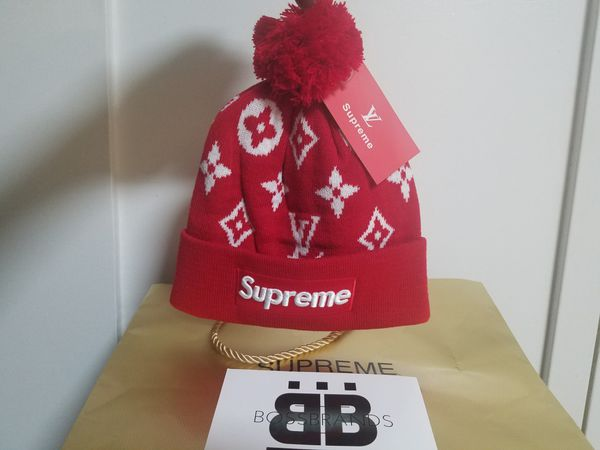 beff2930ce629 NEW!!! UNISEX SUPREME BEANIE BOX LOGO WINTER HAT for Sale in New ...