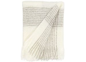 Ivory & Grey Angora Throw Blanket - 50x60 - New with tags for Sale in Indian Hills, KY