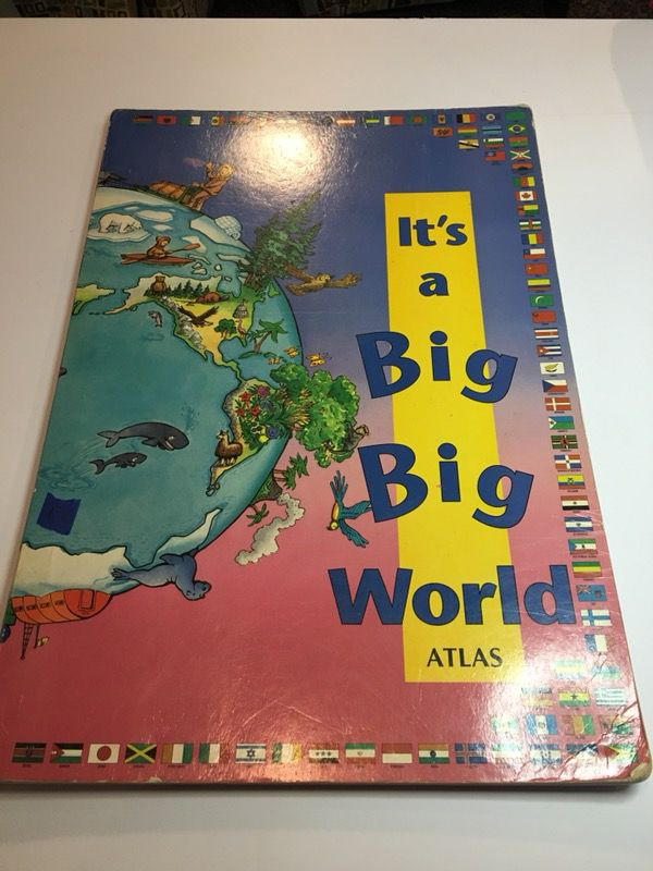 The its a big world book for sale in lombard il offerup gumiabroncs Image collections