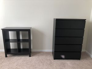 Beautiful IKEA dresser and bookcase (together or separate) for Sale in Washington, DC