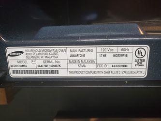 Samsung Microwave Thumbnail