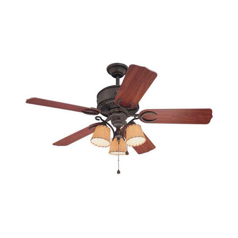Harbor Breeze Austin 54 In Western Ceiling Fan With Light Kit For Sale In Phoenix Az Offerup