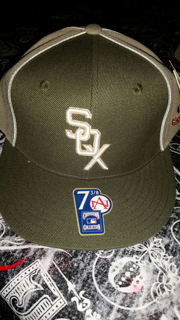 83f26f8c56371 New with tags Chicago White Sox fitted hat Cooperstown collection American  Needle. size 7