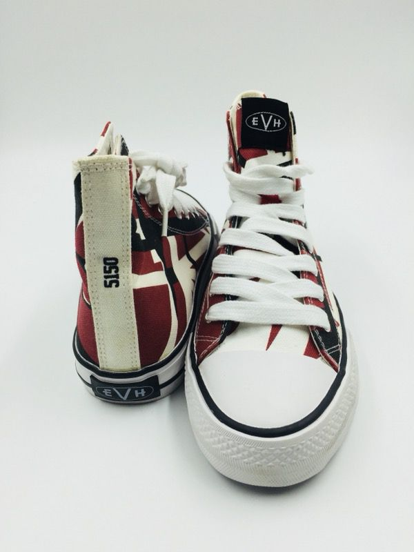 097cf5c86fbb53 NEW!! EVH 5150 Red High Top Shoes for Sale in Los Angeles