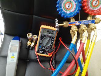 H.v.a.c equipment for technician Thumbnail