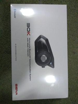 Sena 30k Bluetooth motorcycle headset for Sale in Glen Burnie, MD