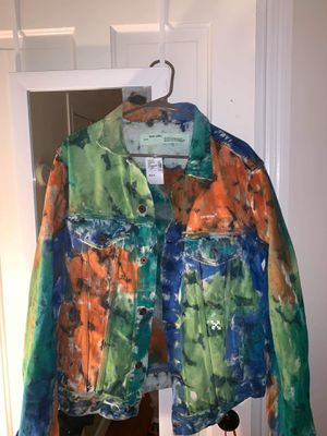 51f2edd7b20 New and Used Off white jacket for Sale in New Bedford, MA - OfferUp
