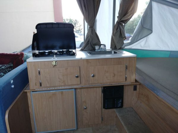 2008 Fleetwood Yuma 12 Ft Pop Up Trailer For Sale In