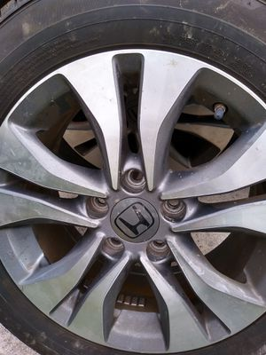 Photo 2014-2016 Honda Accord Alum Rims & Tires
