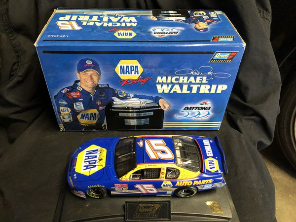 Autographed NASCAR Daytona 500 Winner Michael Waltrip 2001 Action Diecast  1/24th  Scale New! 10 Firm! for Sale in El Monte, CA - OfferUp