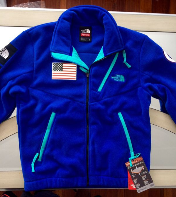 553bfafb322b Supreme® The North Face® Trans Antarctica Expedition Fleece Jacket Blue for  Sale in Providence