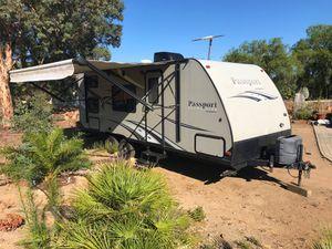 Photo Travel Trailer, RV rental with solar panels