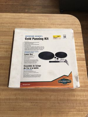 Stansport Gold Panning Kit for Sale in Marina del Rey, CA