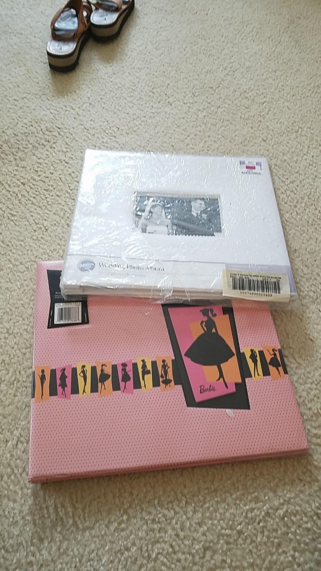 Wedding and Barbie scrapbook