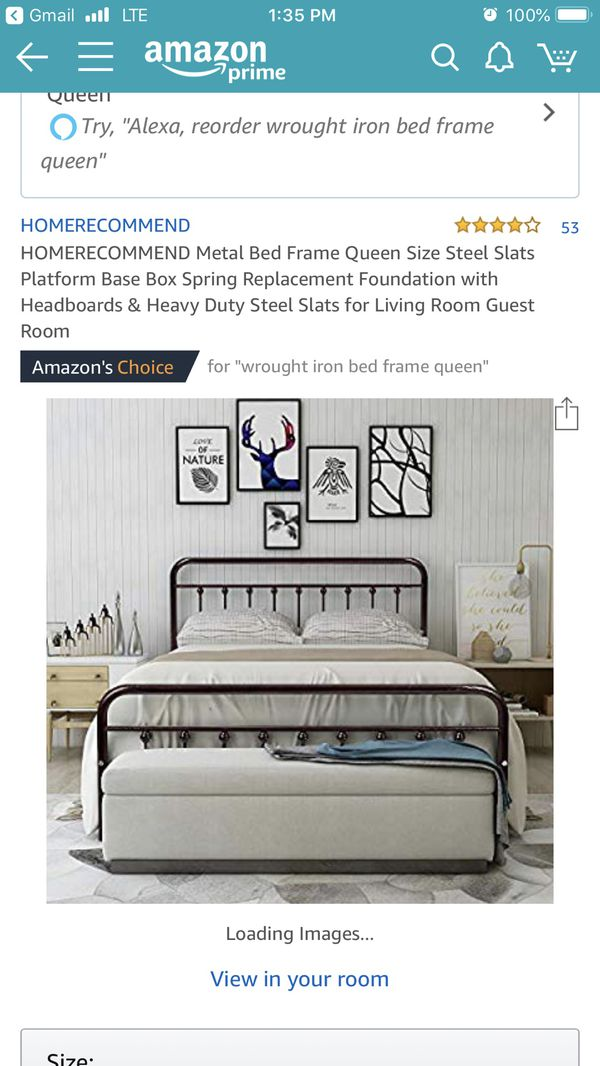 6f88d1663ec52 Queen bed frame! for Sale in Tucson