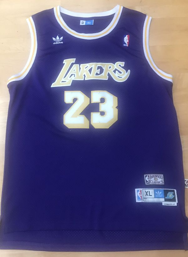 pretty nice cc423 d66ce LeBRON JAMES ~ LAKERS ADIDAS HARDWOOD CLASSIC JERSEY ~ Sz XL for Sale in  Cupertino, CA - OfferUp
